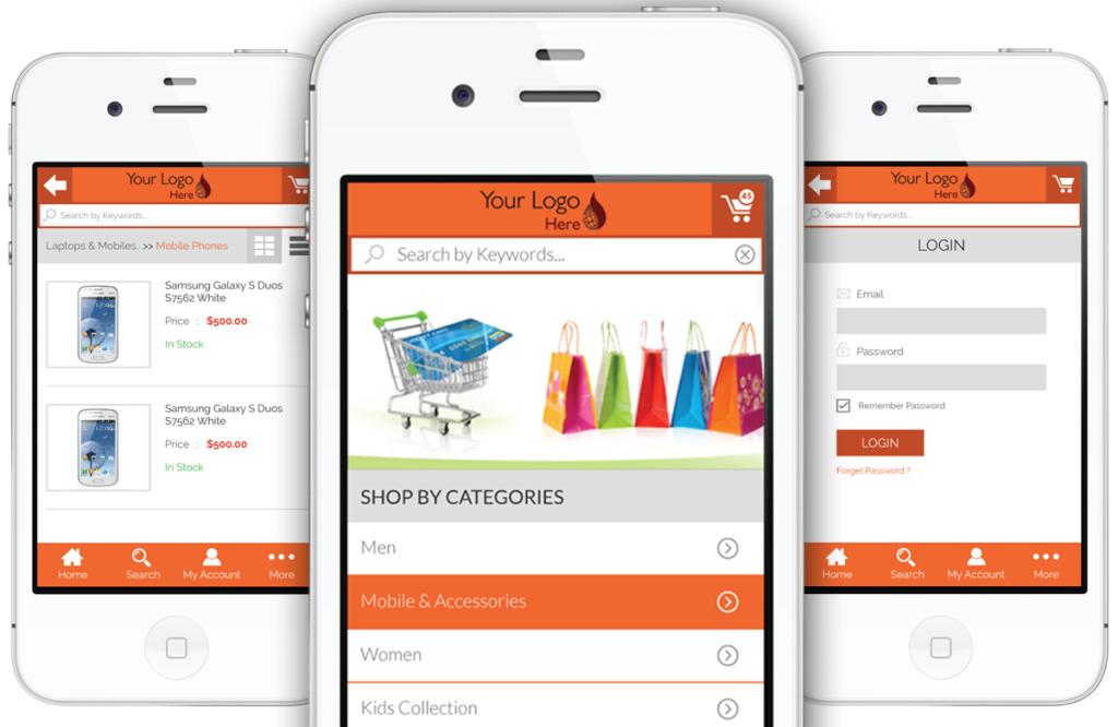 Magento-Mobile-App